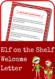 Elf on the Shelf Free Printables | Elf on the Shelf Welcome Letter