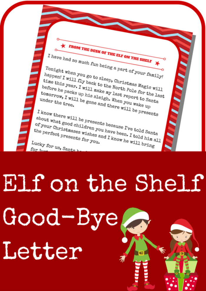 Resource image within elf on the shelf welcome letter printable