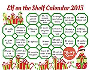 Elf on the Shelf Calendar | 2015 Elf on the Shelf Calendar