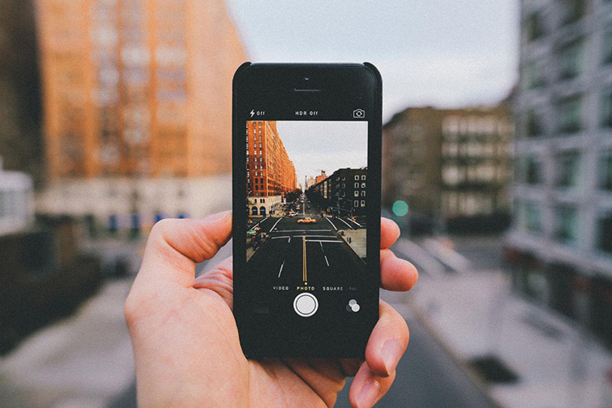 Как сделать несколько фото в одном айфоне