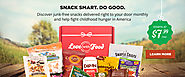 Subscription Box Snacks | Gluten Free or Organic | Love With Food