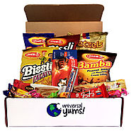 Universal Yums | International Snack and Candy Box