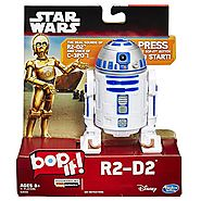 Holiday Party Games | Star Wars R2-D2 Bop It! Game with Authentic Droid SFX and Real Voice of C-3PO Actor (AU Import)