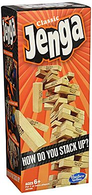 Holiday Party Games | Jenga Classic Game