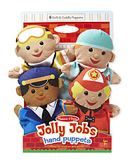 Stocking Stuffers from Melissa & Doug | Jolly Helpers Hand Puppets