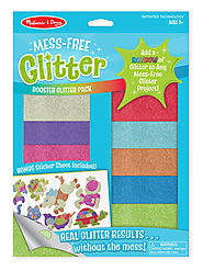 Stocking Stuffers from Melissa & Doug | Mess-Free Glitter Booster Pack