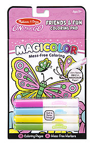 Stocking Stuffers from Melissa & Doug | Magicolor - On the Go - Friends & Fun Coloring Pad