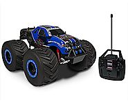 Holiday Gifts for Boys | Velocity Toys Savage Race Champ Battery Operated RC Truck