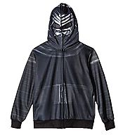 Star Wars Holiday Gift Guide | Star Wars The Force Awakens Big Boys Kylo Ren Costume Hoodie (S (6/7))