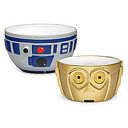 Star Wars Holiday Gift Guide | Star Wars R2-D2 & C-3PO Ceramic Bowl Set
