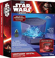 Star Wars Holiday Gift Guide | Uncle Milton - Star Wars Science - Lightsaber Crystal Growing Lab