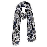 Star Wars Holiday Gift Guide | Star Wars R2D2 Viscose Scarf