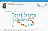 Best 2015 Local SEO Articles | Crowed Sourced | Dupe Citation Hunting and NAP Hunter