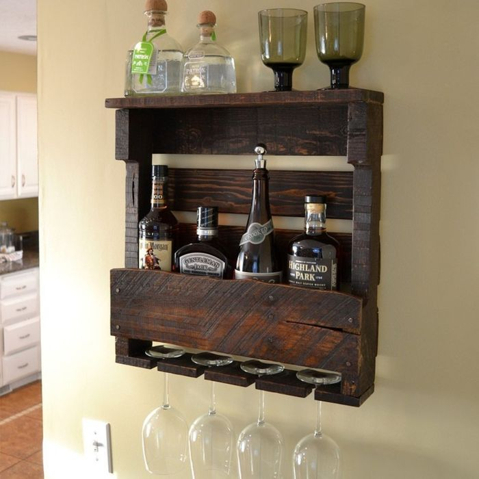 Rustic Wall Mountable Hanging Wine Racks A Listly List