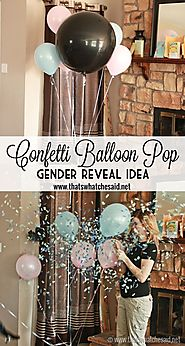 Gender Reveal Party - That's What {Che} Said...
