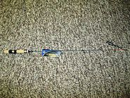"Walleye Ice Fishing Rods | NO.8 TACKLE CO. SNITCH ICE ROD 25"" QUICK TIP DEAD STICK WALLEYE PERCH"