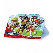 Paw Patrol Party Supplies | Paw Patrol Party Invites