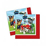 Paw Patrol Party Supplies | Paw Patrol Party Napkins