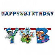 Paw Patrol Party Supplies | Paw Patrol Banner