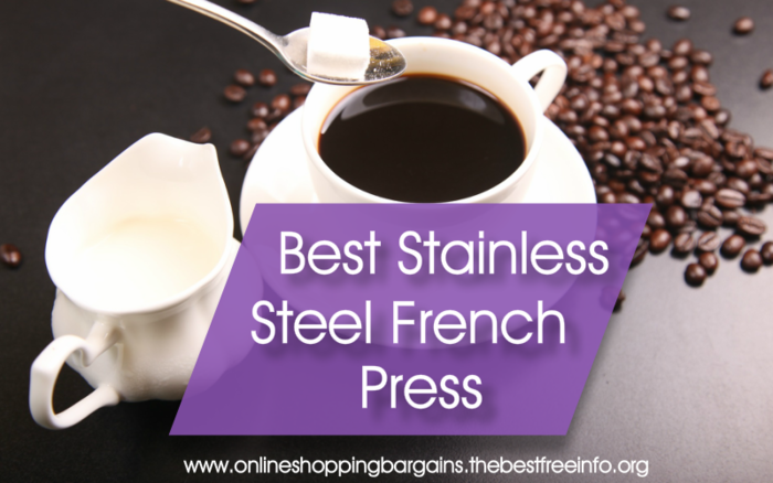 Stainless Steel French Press Coffee Maker A Listly List
