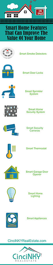 Home Automation Resources | Infographic: Smart Home Features To Increase Home Values