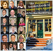 Best Winter Real Estate Articles for Buyers and Sellers | The ULTIMATE Guide to Winter Curb Appeal