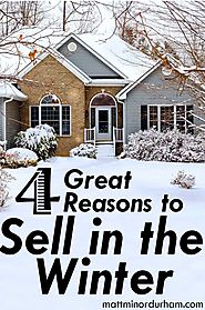 Best Winter Real Estate Articles for Buyers and Sellers | Four Great Reasons to Sell Your House in the Winter
