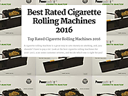 Best Rated Cigarette Rolling Machines Reviews | Best Rated Cigarette Rolling Machines 2016
