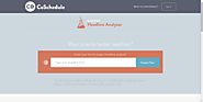 The Best Headline Generator Tools | Coschedule's Headline Analyzer