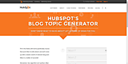 The Best Headline Generator Tools | HubSpot's Blog Topic Generator