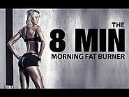 8 MINUTE MORNING Workout (Fast Morning FAT BURNER!!)