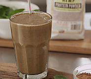 Smoothies to Refill Yourself After Working Out | Clean Green Drinks: Chocolate Peanut Butter Monster