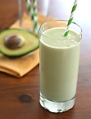 Smoothies to Refill Yourself After Working Out | Avocado Green Tea Power Shake