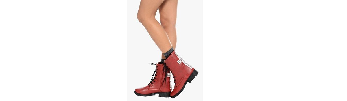 Best Rated Women's Red Combat Boots - What to Buy cover image