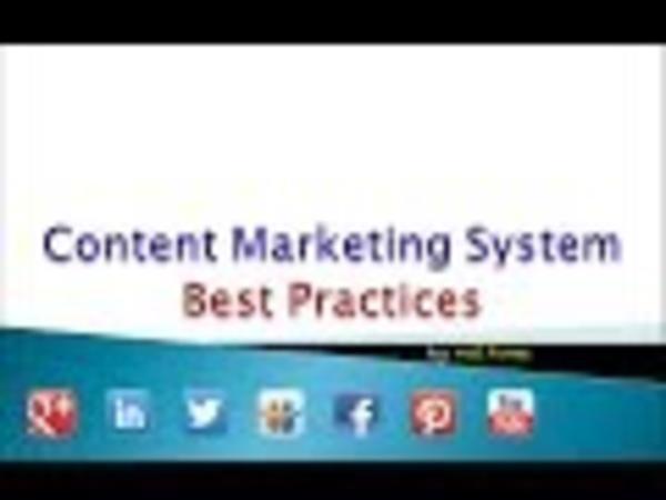 Content Marketing System Best Practices - Google Search