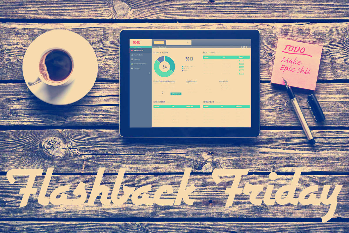 Headline for Flashback Friday (Jan 18-22): Best Articles in UX, Design & Ecommerce This Week