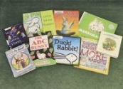 AT THE LIBRARY: Check out these books about rabbits at the library