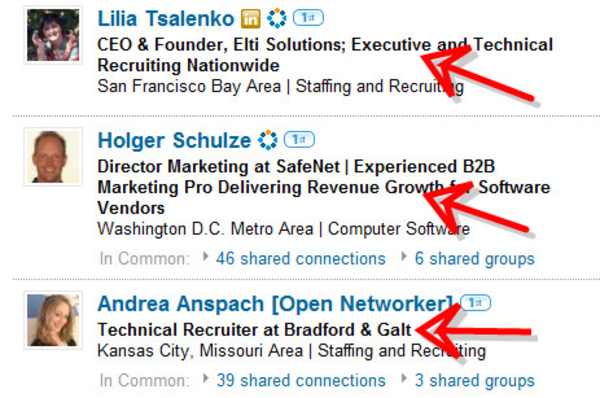 effective use of linkedin a listly list