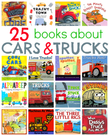 Children S Books About Cars And Trucks A Listly List