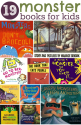 Children's Books about Monsters | 19 Monster Books For Kids