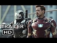 Most Anticipated Superhero Movies This Year! | Captain America: Civil War Official Trailer #1 (2016) Chris Evans, Robert Downey Jr. Movie HD
