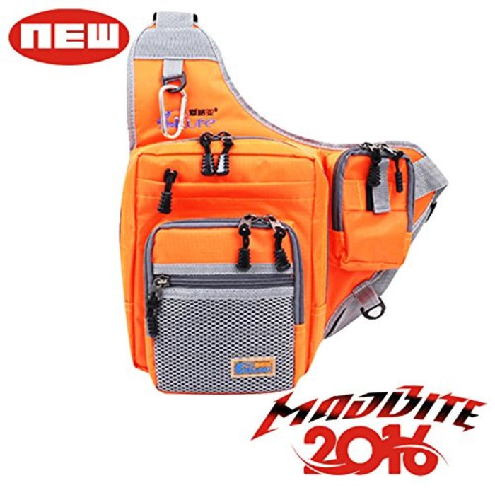 Waterproof fishing tackle backpacks a listly list for Fishing gear list