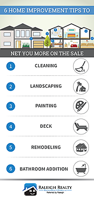 Top 7 Home Maintenance Articles | Selling your Home? 6 Improvements to Net You More Money!