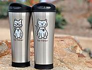Valentine's Day Gifts | For the pet lover: Tail Therapy coffee tumbler