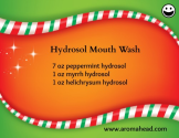 Aromatherapy Mouthwash Recipe - The Aromahead Blog - www.aromahead.com