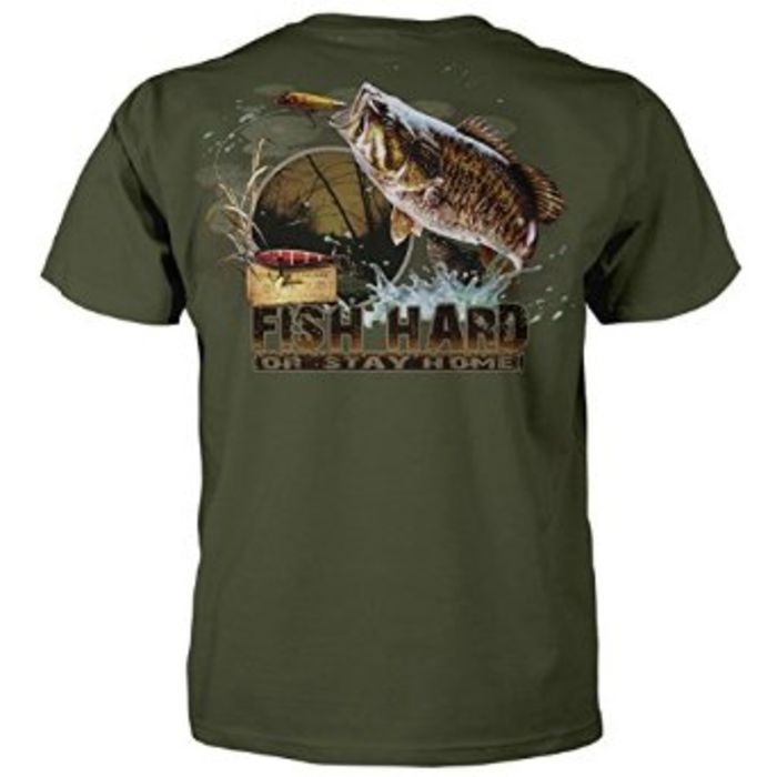 Funny fishing t shirts a listly list for Fishing t shirts