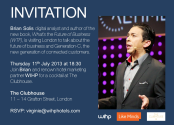 Brian Solis content audit | Your invitation to events in Paris and London