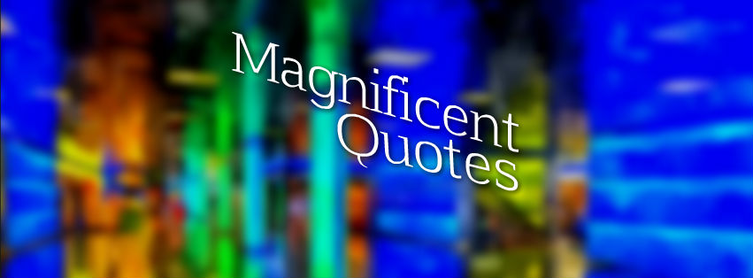 Magnificent Quotes