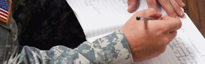 How to write military date in Perth