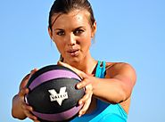 Medicine Ball Workouts Guide | 25 Minute Med Ball & Step Total Body Workout
